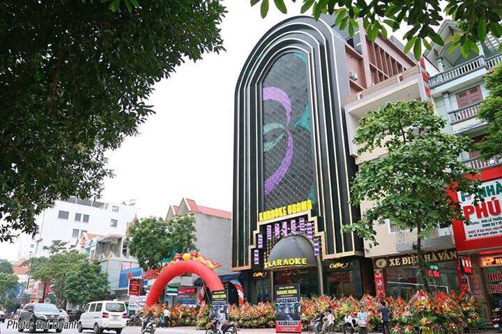 mẫu thiết kế quán karaoke obama - kiến trúc việt xanh
