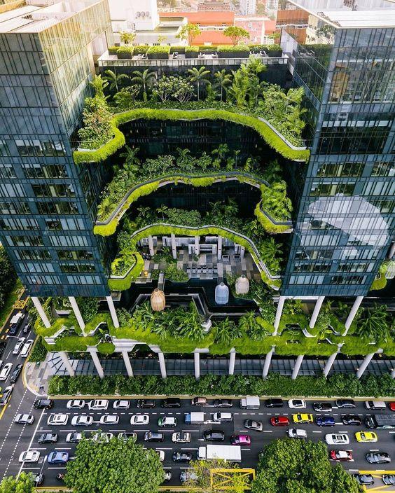 Hệ thống khách sạn Parkroyal, Singapore