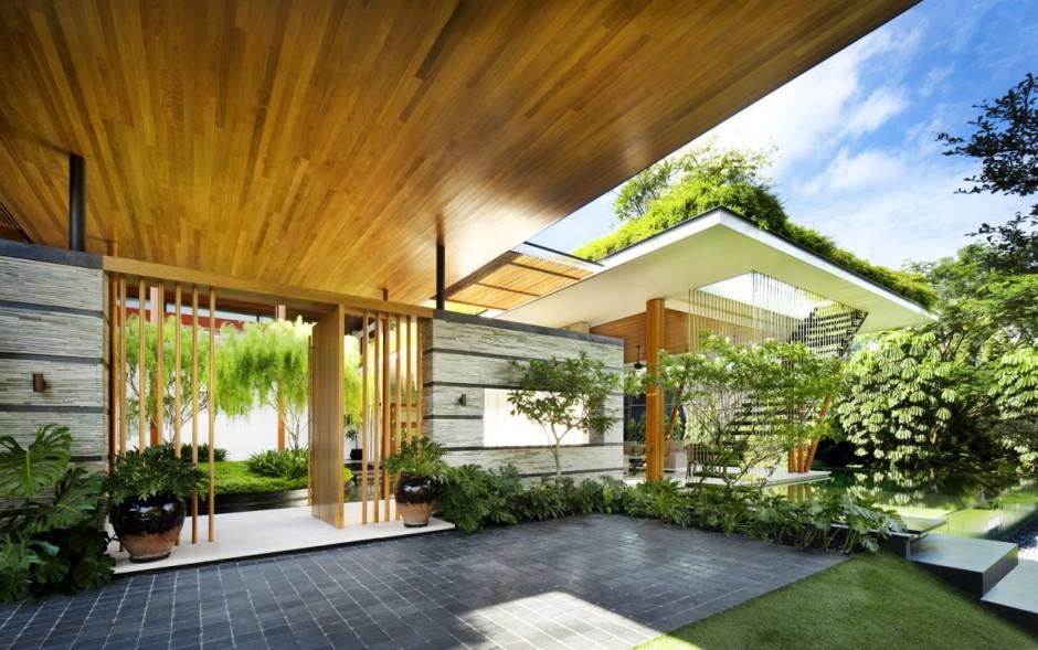 môi trường trong nhà kiến trúc xanh