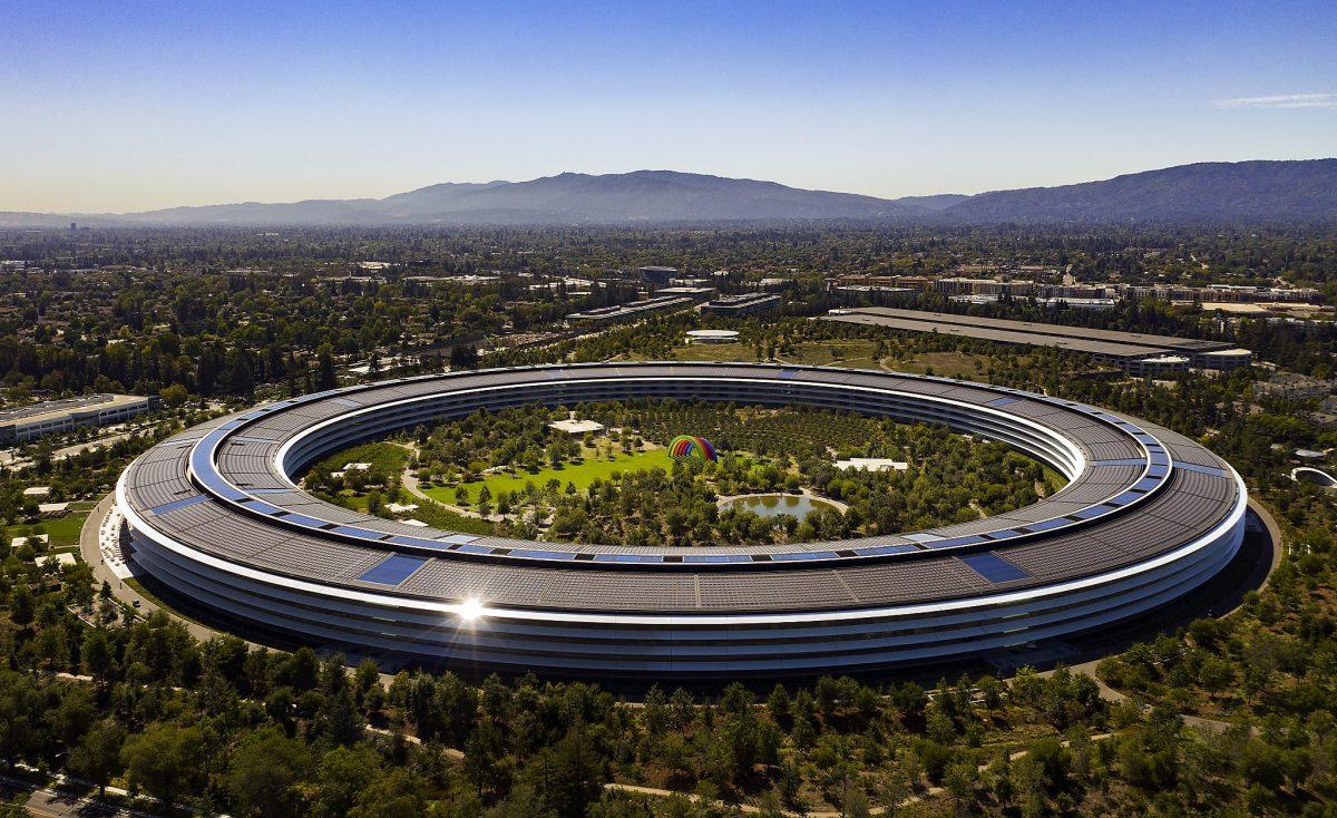 Công trình kiến trúc xanh apple park