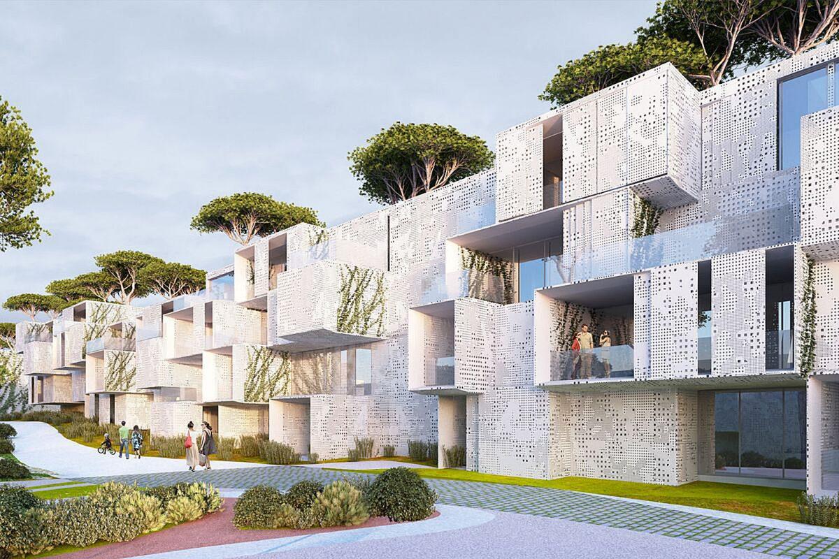 địa điểm xây dựng công trình kiến trúc xanh
