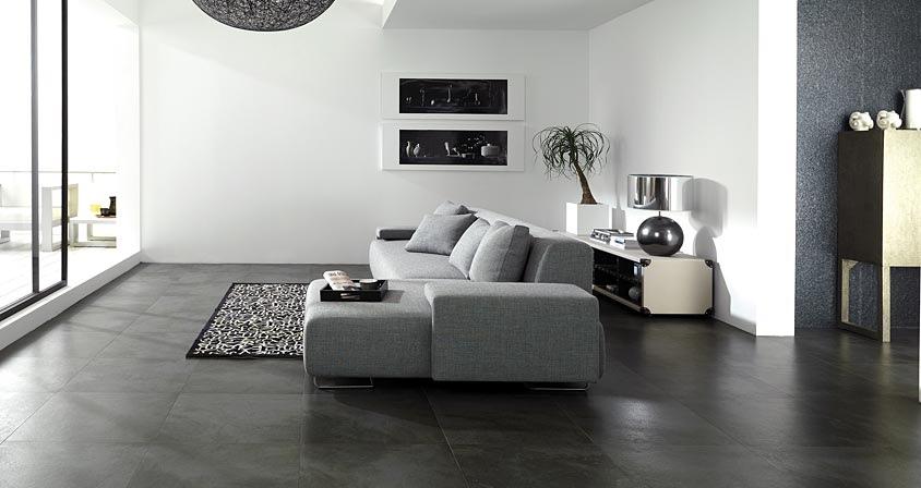 gạch granite lát nền phòng khách