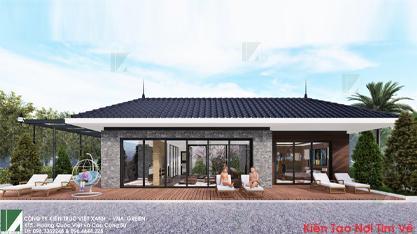 thiết kế biệt thự mái thái 1 tầng btmt-02