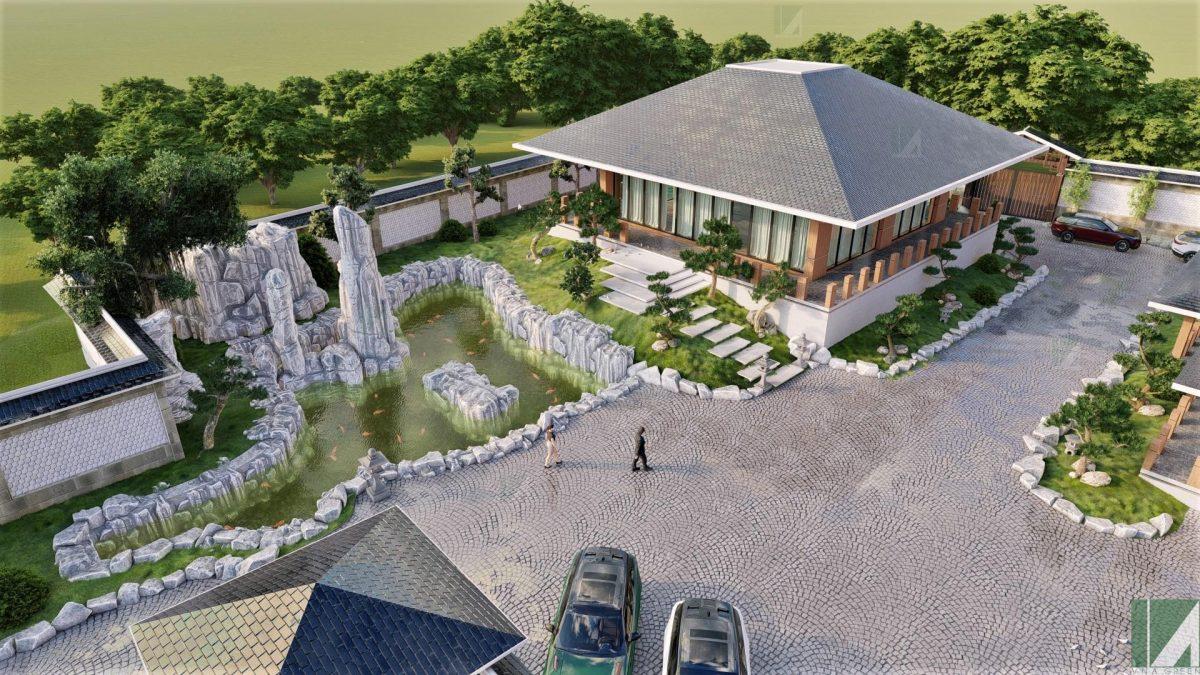 ẫu Biệt Thự Hiện Đại Sân Vườn BTHD2-05