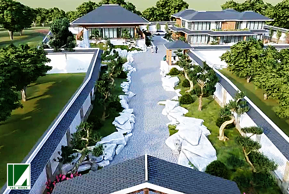 mẫu biệt thự sân vườn hiện đại kiến trúc nhật bthd2-05